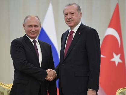 «Турецкий поток», ракеты и мирный атом. О чем говорили Путин и Эрдоган