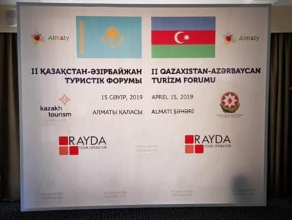Almatıda ikinci II Qazaxıstan-Azərbaycan Turizm Forumu Keçirilib