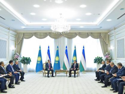О чем говорили президенты Казахстана и Узбекистана