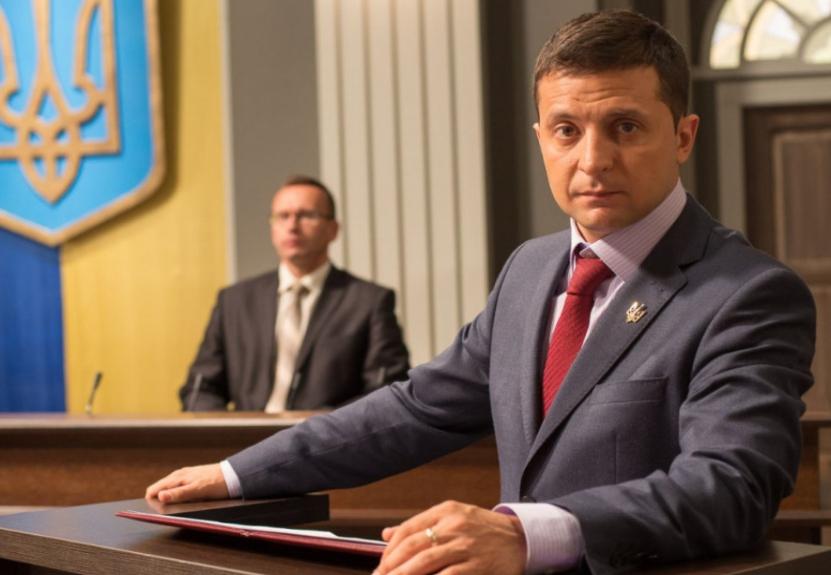 Зеленский побеждает на выборах президента Украины