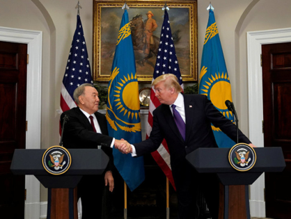 Трамп екі айдан кейін Назарбаевтың отставкасына қатысты пікір білдірді