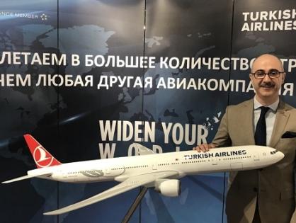 """THY Kazan Ofisi Müdürü Fırat Kiriş: """"Bizim beklentilerimiz Tataristan ve Türkiye arasındaki ilişkilerde kusursuz bir köprü olmaktır"""""""