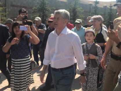 Атамбаев: Я уже несколько месяцев говорил, что буду отстреливаться