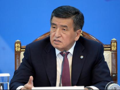 Жээнбеков: Атамбаев грубо попрал Конституцию и законы, оказав сопротивление