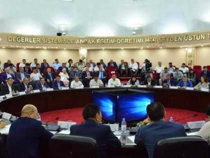 В Туркестане состоялось заседание политического совета