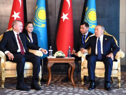 Қазақстанның Тұңғыш Президенті Түркия Республикасының Президенті Режеп Ердоғанмен кездесті
