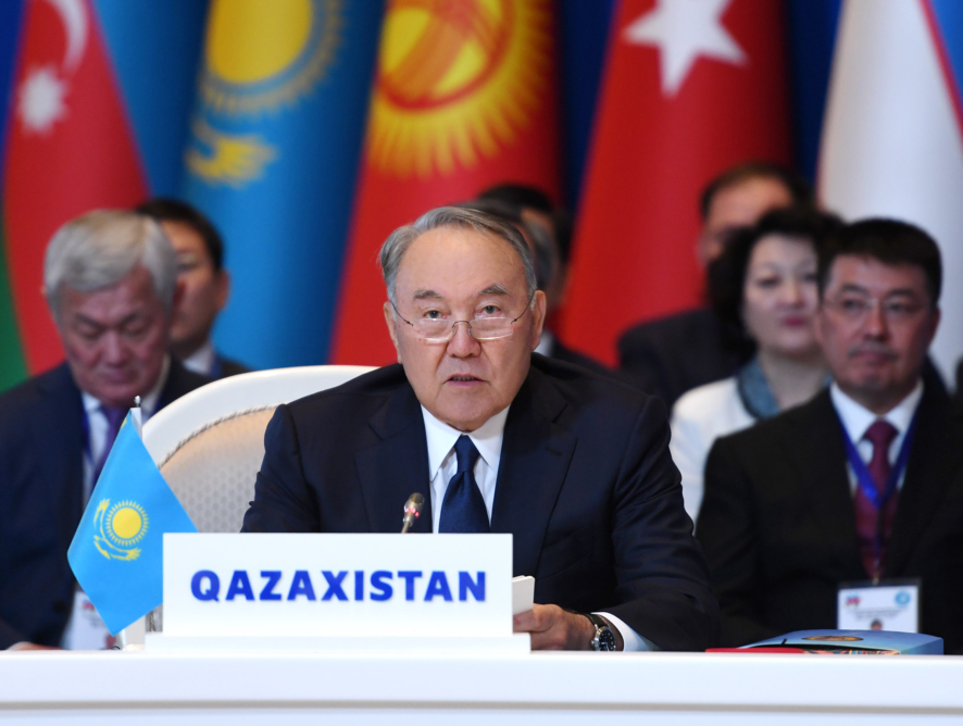 """Назарбаев: """"Құрылымды «Түркітектес мемлекеттер ұйымы» деп атауға болады""""."""