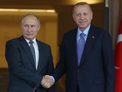Эрдоган и Путин обсудили эскалацию на границе Азербайджана и Армении
