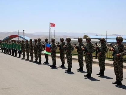 Турецкие военные прибыли на учения в Азербайджан