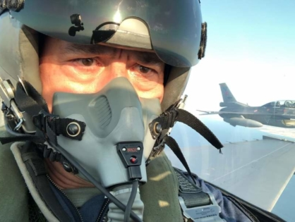 Глава Минобороны Турции облетел на F-16 север Эгейского моря
