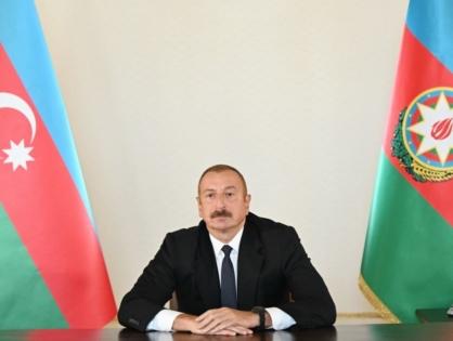 Президент Азербайджана: У нас нет военных целей на территории Армении