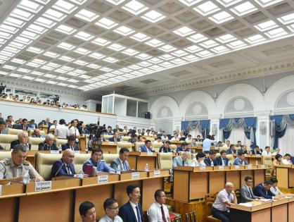 Прошло совещание руководителей структурных подразделений Аппарата правительства