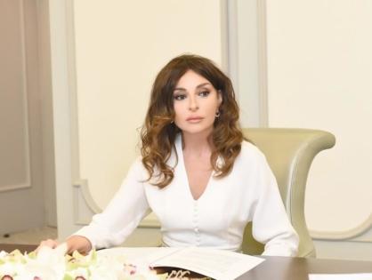 Первый вице-президент Мехрибан Алиева: Подобные варварские атаки свидетельствуют о том, что жестокость армян не знает границ (ФОТО)