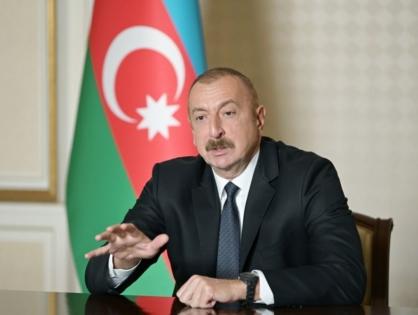 Ильхам Алиев: Победоносная Азербайджанская армия освободила от оккупации еще 16 сел