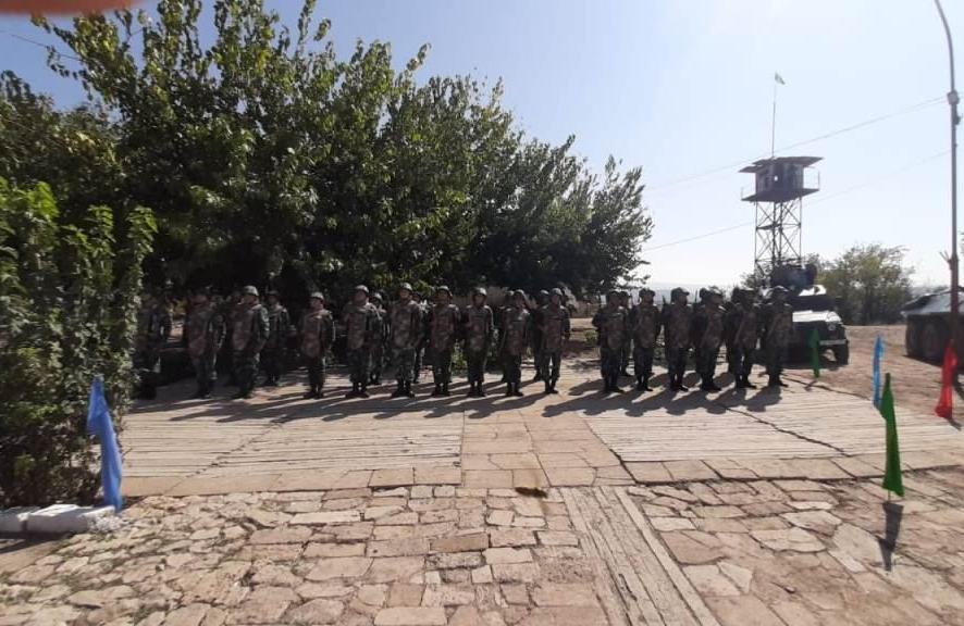 Государственный флаг Азербайджана поднят над освобожденными от оккупации пограничными заставами