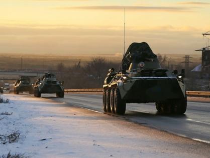 Российские миротворцы вошли в Ханкенди