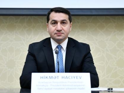 Хикмет Гаджиев обратился в ЮНИСЕФ и ООН в связи с нападениями армян на Барду
