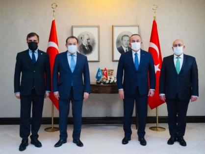 Türk Konseyi Genel Sekreteri Türkiye Dışişleri Bakanyla Görüştü