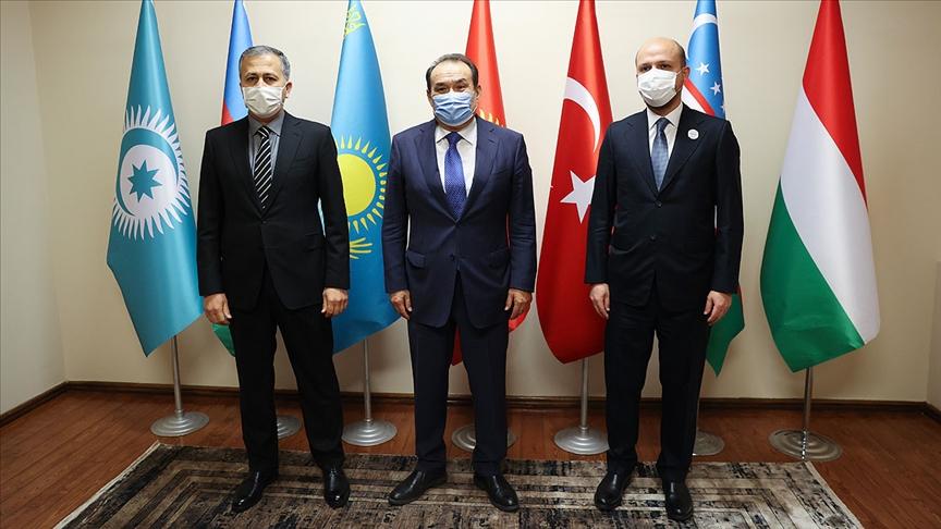 İstanbul Valisi Yerlikaya ve Bilal Erdoğan'dan Türk Konseyi Genel Sekreterliğine 'hayırlı olsun' ziyareti