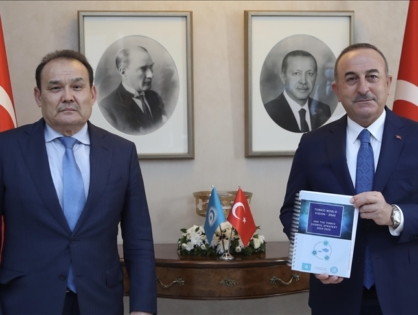 Генеральный секретарь Тюркского Совета встретился с Министром иностранных дел Турции
