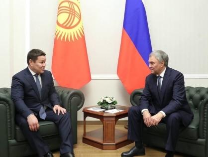 Талант Мамытов: Россия готова оказать нам помощь по многим вопросам