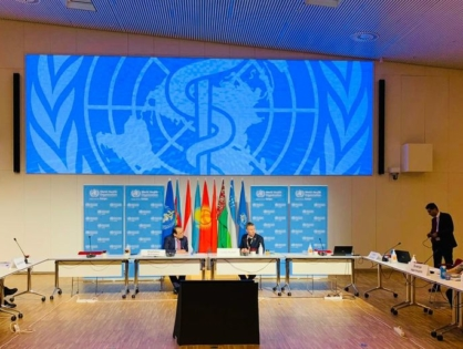 WHO/Europe and the Turkic Council begin putting memorandum of understanding into action