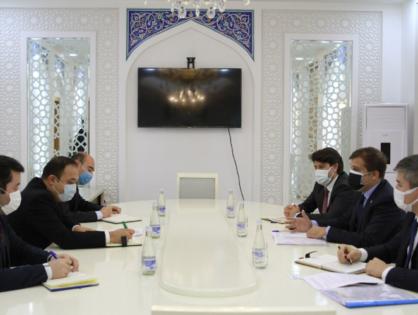 Türk Konseyi Heyeti Özbekistan'da Temaslarda Bulundu