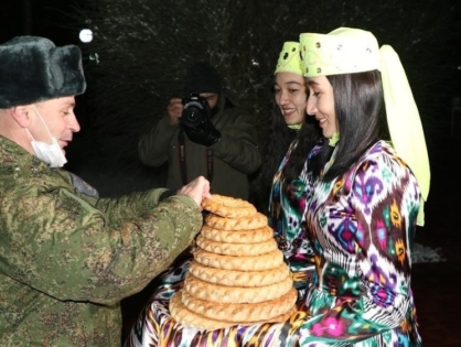Спецназ России прибыл в Узбекистан на совместное учение