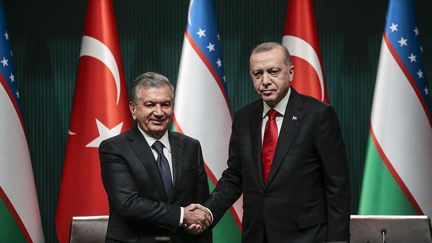 Лидеры Турции и Узбекистана обсудили двусторонние связи