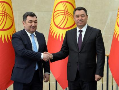 Түркі академиясының басшысы Қырғызстан Президентімен кездесті