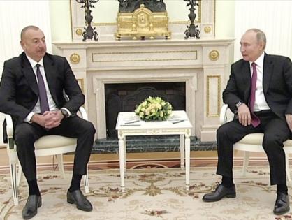 Путин и Алиев провели переговоры в Москве