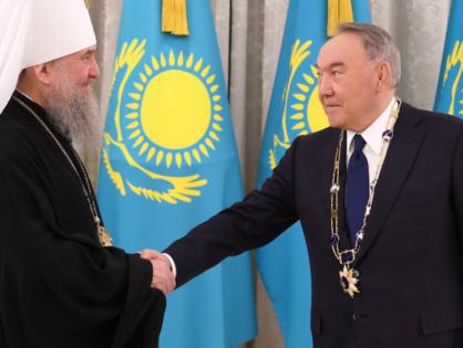 Елбасы «Алғыс» орденімен марапатталды