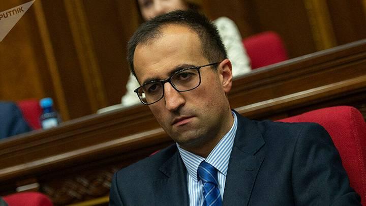 «Ставленник Сороса» назначен главой аппарата правительства Пашиняна