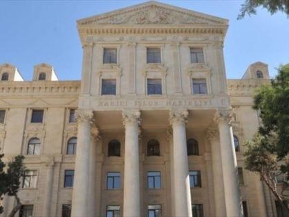 МИД Азербайджана о незаконном визите Айвазяна в Карабах