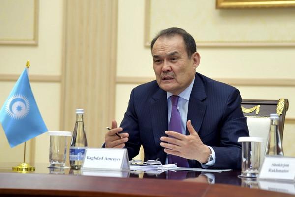 Председатель Сената Олий Мажлиса встретилась с Генеральным секретарем Совета сотрудничества тюркоязычных государств