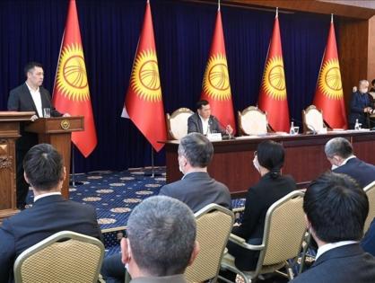 В Кыргызстане утвердили состав нового правительства