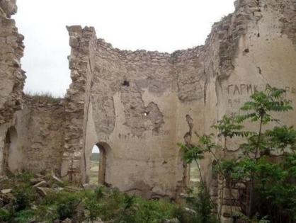 Армяне за время оккупации разрушили единственную церковь РПЦ в Карабахе