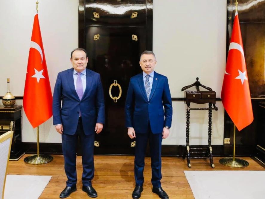 Tүркі Кеңесінің Бас Хатшысы Түркия Республикасының Вице-Президентімен кездесті