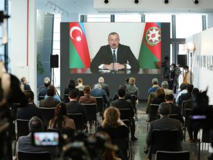 Ильхам Алиев провел пресс-конференцию для представителей местных и зарубежных СМИ