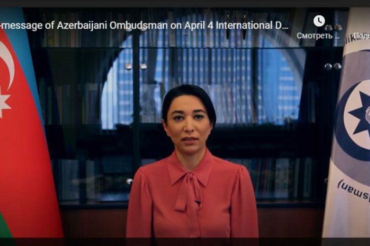 Омбудсмен призвала международную общественность осудить Армению за отказ от предоставления карт минных полей