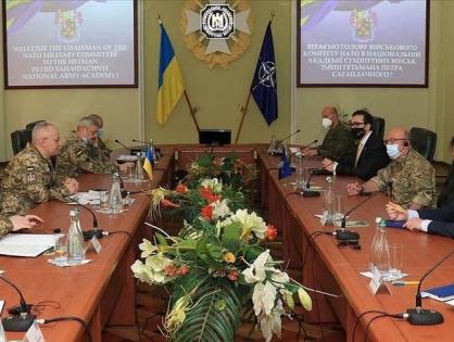 Глава Военного комитета НАТО прибыл в Украину