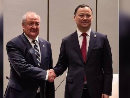 В Китае главы МИД Узбекистана и Кыргызстана обсудили двустороннее сотрудничество