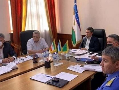 Стороны рассмотрели перевозки пилотного поезда «Узбекистан-Туркменистан-Иран-Оман»