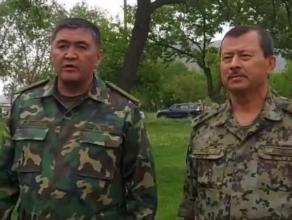 Прекращение огня и отвод войск. Протокол подписали главы ГКНБ Кыргызстана и Таджикистана