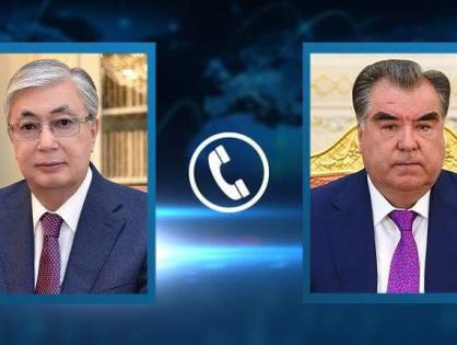 Состоялся телефонный разговор Президента Казахстана Касым-Жомарта Токаева с Президентом Таджикистана Эмомали Рахмоном